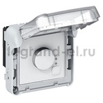 Электронный комнатный термостат – 250 В IP55 Legrand Plexo, серый, Legrand